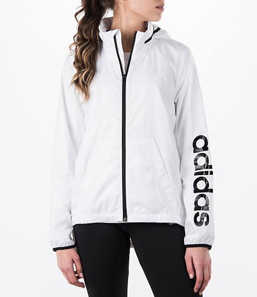 Women's adidas Linear Training Windbreaker Jacket