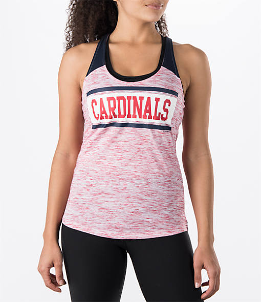 Women's New Era St. Louis Cardinals MLB Space Dye Tank