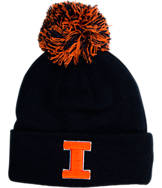 Zephyr Illinois Fighting Illini College XRay Pom Beanie Hat