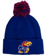 Zephyr Kansas Jayhawks College XRay Pom Beanie Hat