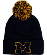 Zephyr Michigan Wolverines College XRay Pom Beanie Hat