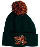 Zephyr Miami Hurricanes College XRay Pom Beanie Hat