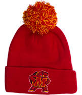 Zephyr Maryland Terrapins College XRay Pom Beanie Hat