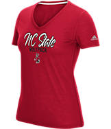 Women's adidas NC State Wolfpack College Slant T-Shirt