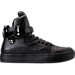 Right view of Men's SNKR Project Ballagio Casual Shoes in Black/Black