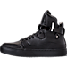 Left view of Men's SNKR Project Ballagio Casual Shoes in Black/Black