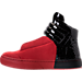 Left view of Men's SNKR Project Hollywood Casual Shoes in Red/Black