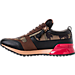 Left view of Men's SNKR Project Rodeo Casual Shoes in Brown/Black/Camo