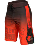 Men's Forever Cleveland Browns NFL Gradient Boardshorts