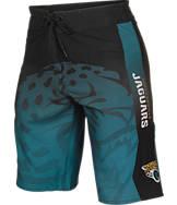 Men's Forever Jacksonville Jaguars NFL Gradient Boardshorts