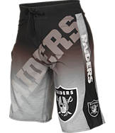 Men's Forever Oakland Raiders NFL Gradient Boardshorts