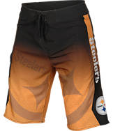 Men's Forever Pittsburgh Steelers NFL Gradient Boardshorts
