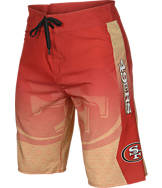 Men's Forever San Francisco 49ers NFL Gradient Boardshorts