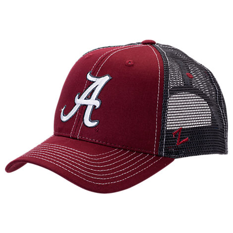 Zephyr Alabama Crimson Tide College Staple Trucker Snapback Hat