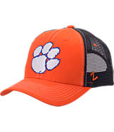 Zephyr Clemson Tigers College Staple Trucker Snapback Hat