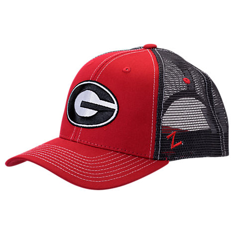 Zephyr Georgia Bulldogs College Staple Trucker Snapback Hat