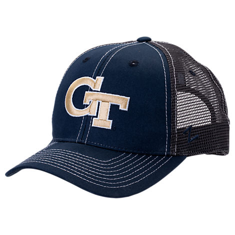 Zephyr Georgia Tech Yellow Jackets College Staple Trucker Snapback Hat