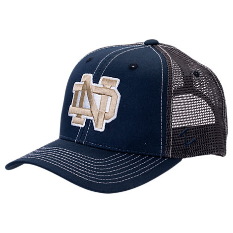 Zephyr Notre Dame Fighting Irish College Staple Trucker Snapback Hat