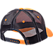Back view of Zephyr Tennessee Volunteers College Staple Trucker Snapback Hat in Team Colors