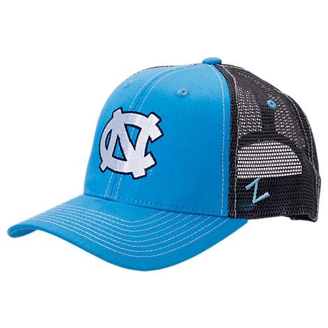 Zephyr North Carolina Tar Heels College Staple Trucker Snapback Hat