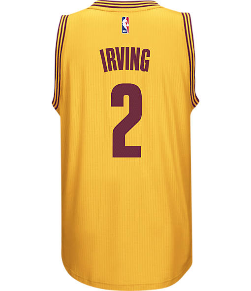 Men's adidas Cleveland Cavaliers NBA Kyrie Irving Swingman Jersey
