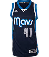 Men's adidas Dallas Mavericks NBA Dirk Nowitzki Swingman Jersey