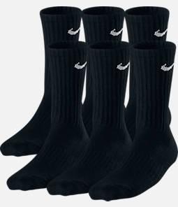 Kids' Nike Performance Cushion 3-Pack Crew Socks - Size Medium Product Image