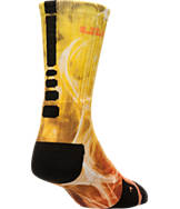Men's Nike LeBron Elite Digital Design Basketball Crew Socks