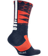 Men's Nike LeBron Hyper Elite Basketball Crew Socks