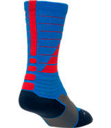 Men's Nike Hyper Elite Power Up Basketball Crew Socks