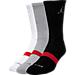 Kids' Jordan DRI-Fit 3-Pack Crew Socks  Product Image