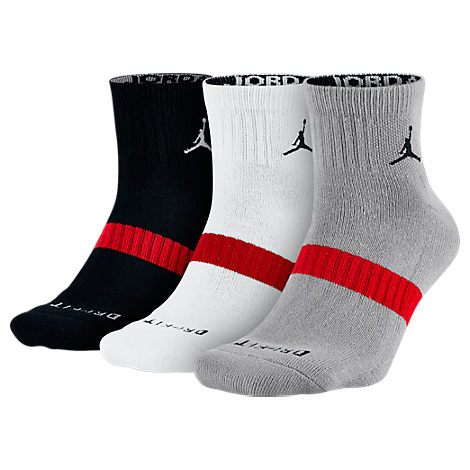 Jordan Dri-FIT 3-Pack Low Quarter Socks