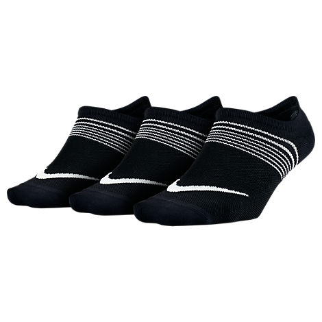 Women's Nike Lightweight Training 3-pack No-Show Socks