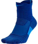 Men's Nike Elite Versatility Mid Basketball Quarter Socks
