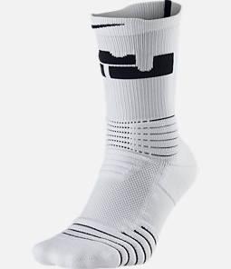 Unisex Nike LeBron Elite Versatility Crew Socks Product Image