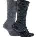 Back view of Men's Nike Sportswear Advance Crew Socks - 2 Pack in Dark Grey/Cool Grey/Black