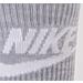 Back view of Men's Nike Sportswear Advance Crew Socks - 2 Pack in Blue/White