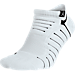 Front view of Men's Jordan Ultimate Flight Ankle Socks in 100