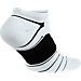 Back view of Men's Jordan Ultimate Flight Ankle Socks in 100