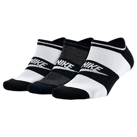 Women's Nike Sportswear Striped No-Show Socks - 3-Pack
