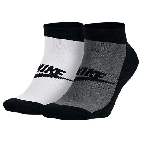 Men's Nike Graphic 2-Pack No-Show Socks
