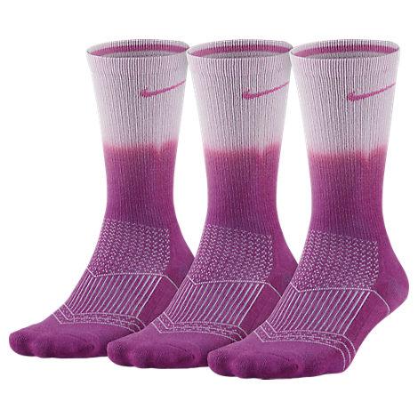 Women's Nike Dri-FIT Cushion 3-Pack Crew Socks