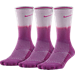 Front view of Women's Nike Dri-FIT Cushion 3-Pack Crew Socks in 588
