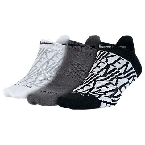 Women's Nike Cushion 3-pack No-Show Socks