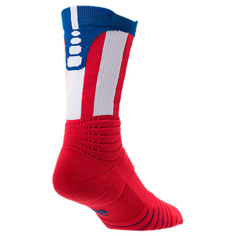 Men's Nike Elite Versatility Basketball Crew Socks