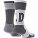 Back view of Men's Nike Sportswear Crew Socks - 2 Pack in Grey/White