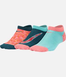 Girls' Nike Performance Lightweight No-Show Socks - 3 Pack Product Image