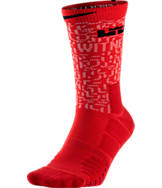 Unisex LeBron Elite Quick Crew Basketball Socks