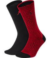 Unisex Jordan Elephant 2-Pack Crew Socks
