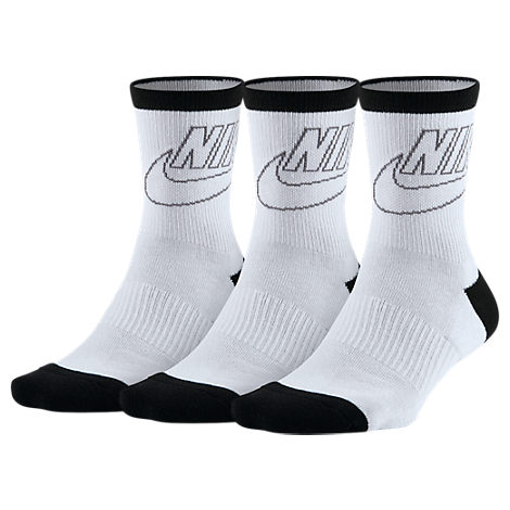 Women's Nike Sportswear Striped 3-Pack Crew Socks